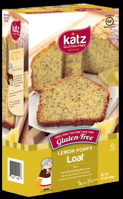 Katz Gluten-Free Lemon Poppy Loaf (FROZEN)