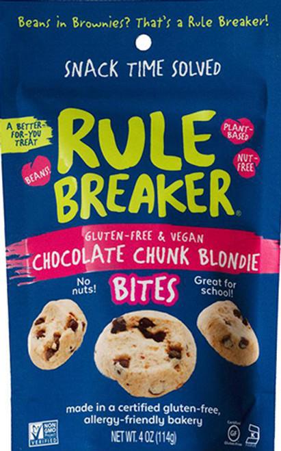 Rule Breaker Chocolate Chunk Blondie Bites