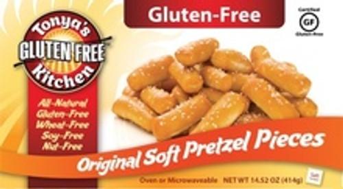 Tonya's Gluten-Free Original Soft Pretzel Pieces 14.52 oz (FROZEN)