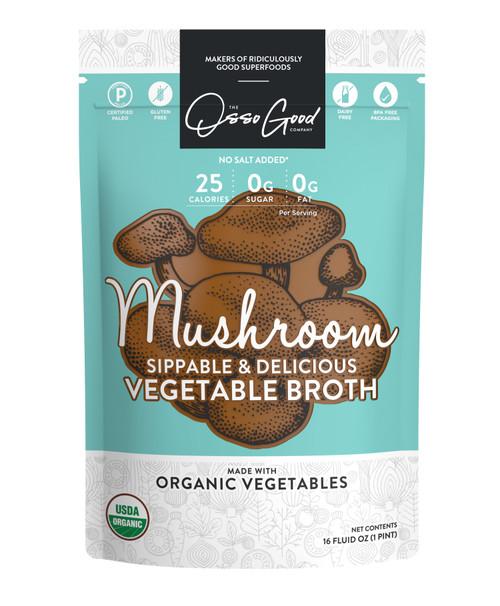 Osso Good Organic Mushroom Broth