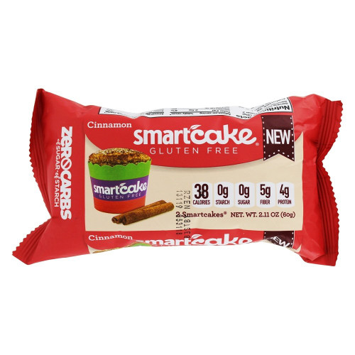 Smart Baking Company Cinnamon Smartcakes Twin Pack
