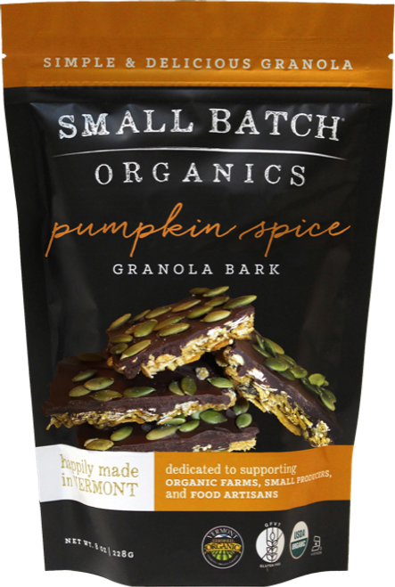 Small Batch Granola Pumpkin Spice Granola Bark