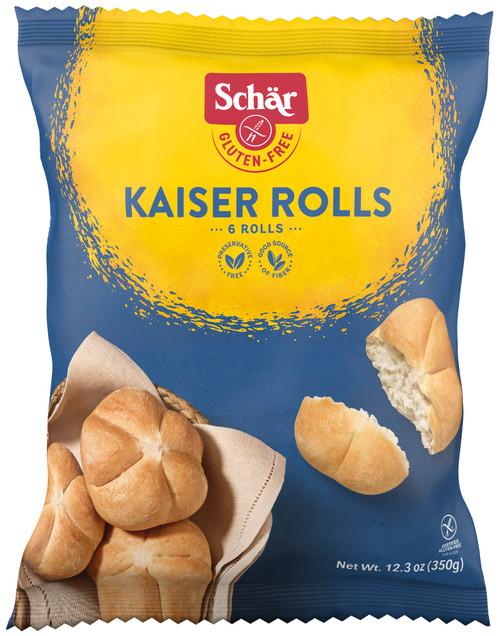 Schar Vegan Kaiser Rolls (FROZEN)