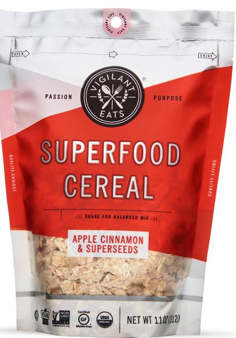 Vigilant Eats Superfood Cereal Apple Cinnamon