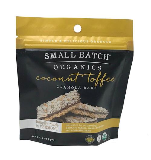 Small Batch Granola Organic Coconut Toffee Granola Bark