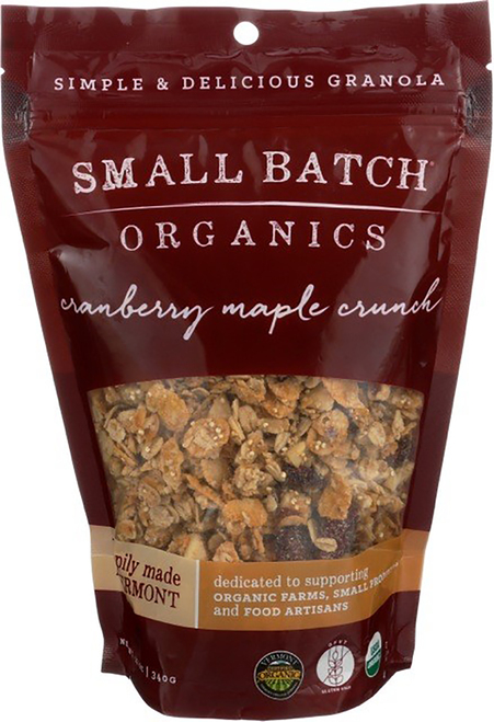 Small Batch Granola Organic Cranberry Maple Crunch Granola