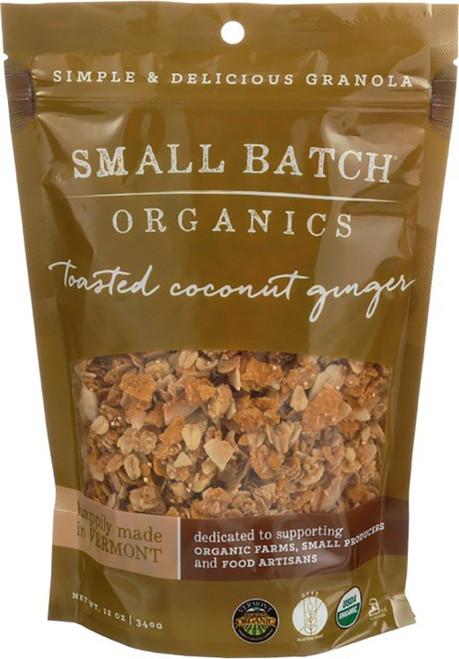 Small Batch Organic Granola Toasted Coconut Ginger Granola