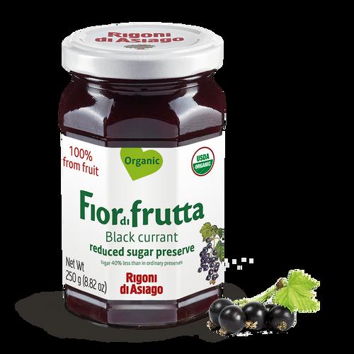 Fiordifrutta Organic Black Currant Spread