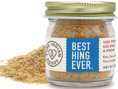 Pure Indian Foods Asafoetida Hing, Powder