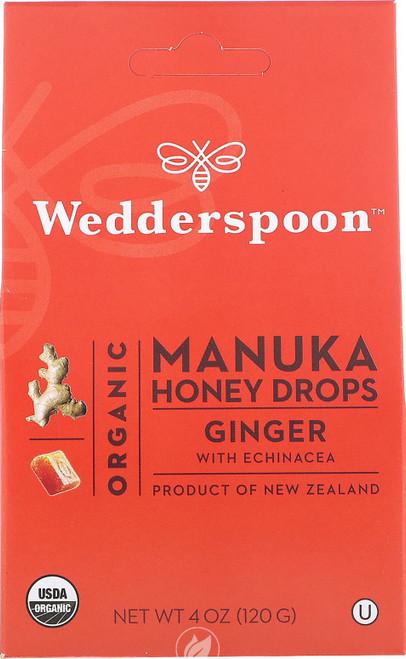 Wedderspoon Manuka Drops Ginger w/ Echinacea