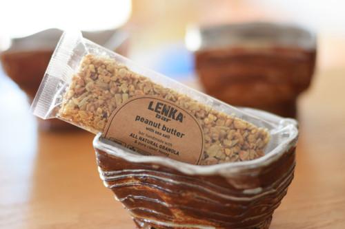 Lenka Bar Peanut Butter Handmade Granola Bars