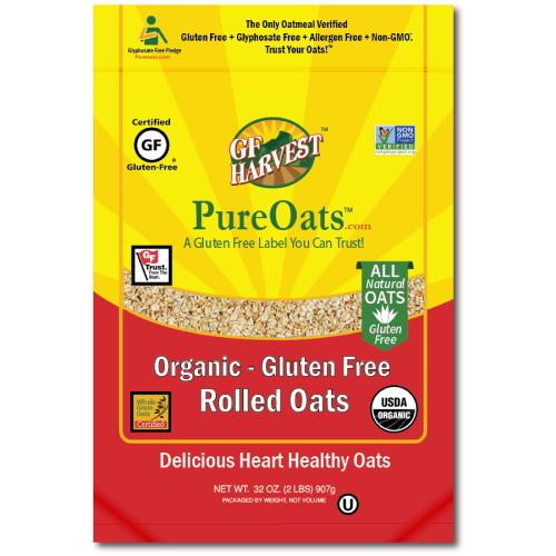 GF Harvest PureOats Rolled Oats, Organic