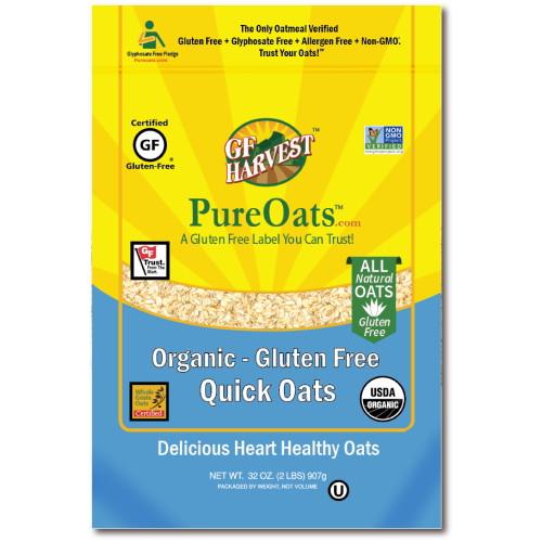 Harvest PureOats Quick Oats, Organic