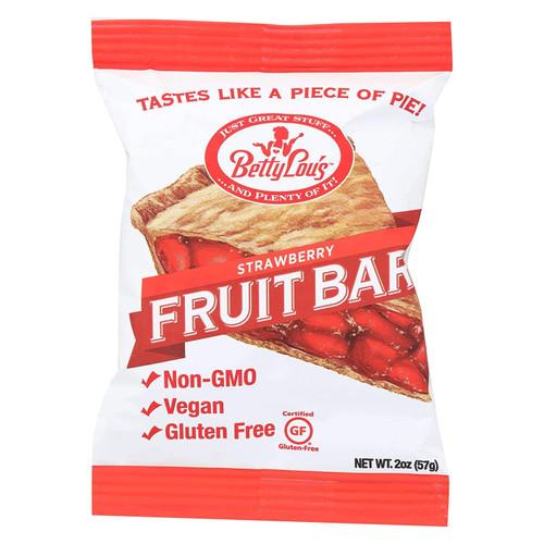 Betty Lou's Strawberry Fruit Bars