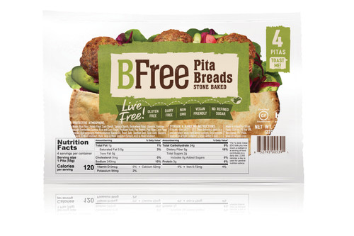 BFree Foods Pita Breads