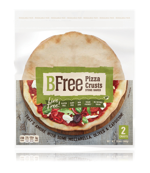 BFree Gluten-Free Stone Baked Pizza Crusts (2/pk)