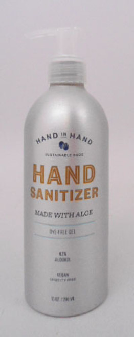 Hand in Hand Fragrance Free Hand Sanitizer