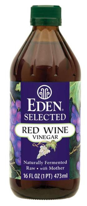Eden Foods Gluten-Free Raw Unfiltered Red Wine Vinegar