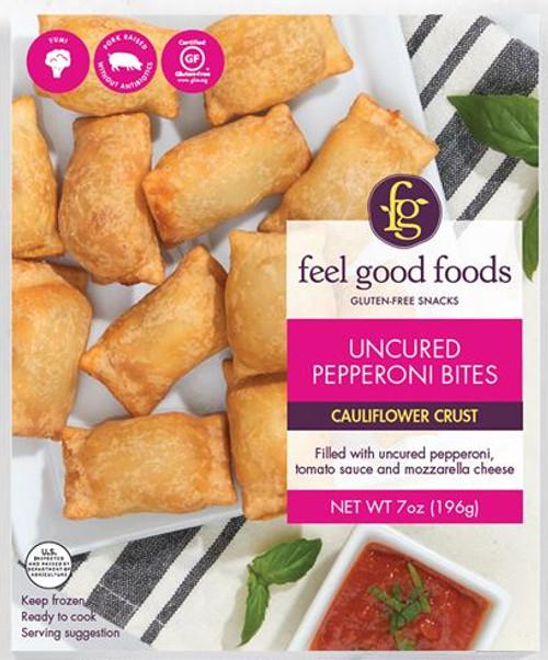 Feel Good Foods Uncured Pepperoni Snack Bites