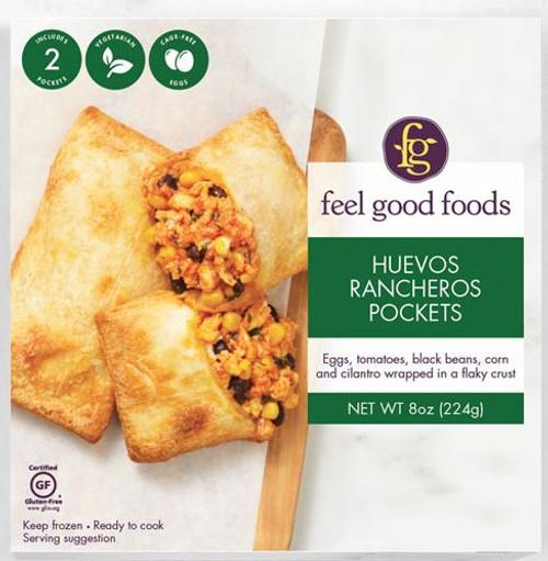 Feel Good Foods Huevos Rancheros Breakfast Pocket
