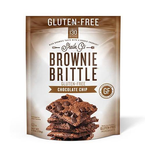 Sheila G's Gluten-Free Chocolate Chip Brownie Brittle