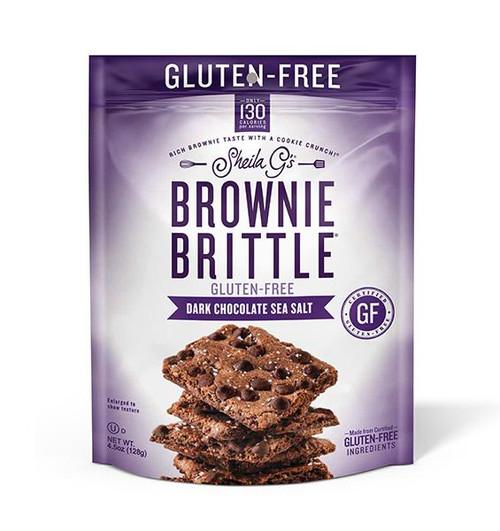 Sheila G's Gluten-Free Dark Chocolate Sea Salt Brownie Brittle
