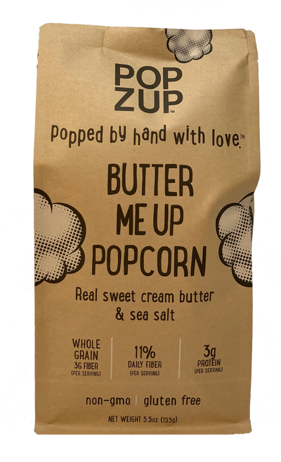 Popzup Butter Me Up Ready To Eat Popcorn