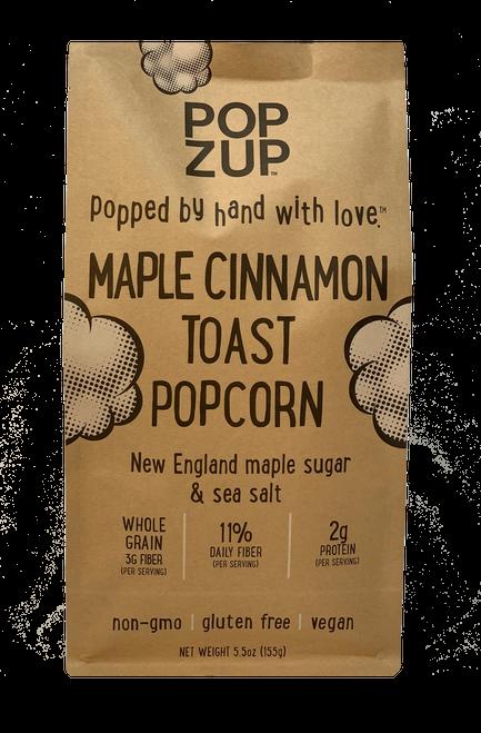 Popzup Gluten-Free Maple Cinnamon Toast Popcorn