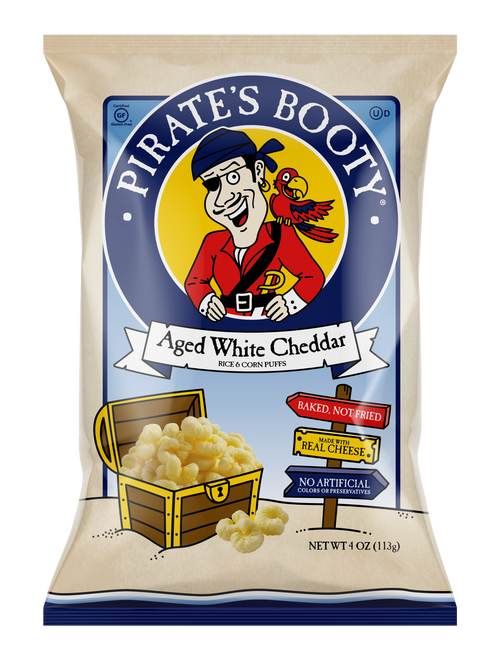 Pirate's Booty Aged White Cheddar 12/4