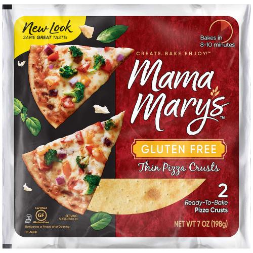 Mama Mary's GF 7 2pk Pizza Crust 8/7