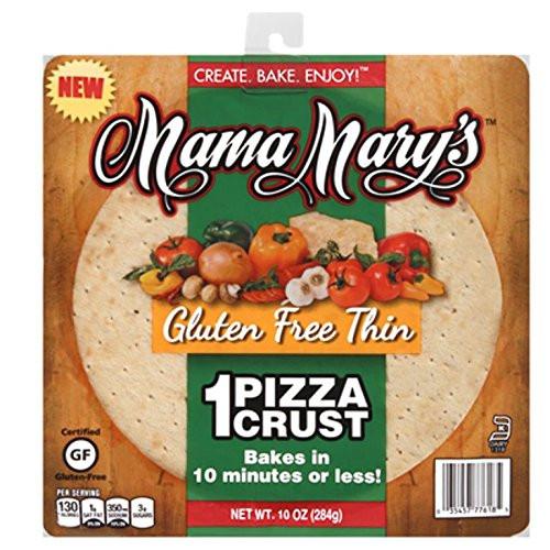 Mama Mary's GF 12 GF Pizza Crust 10/10