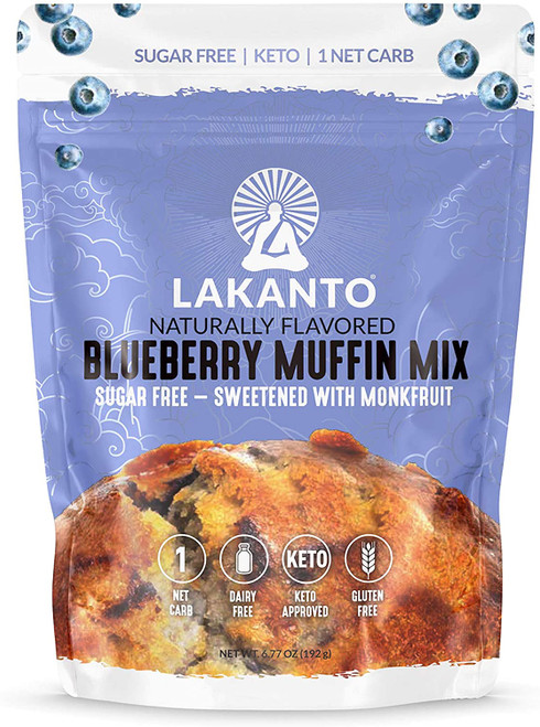Lakanto Blueberry Muffin Mix