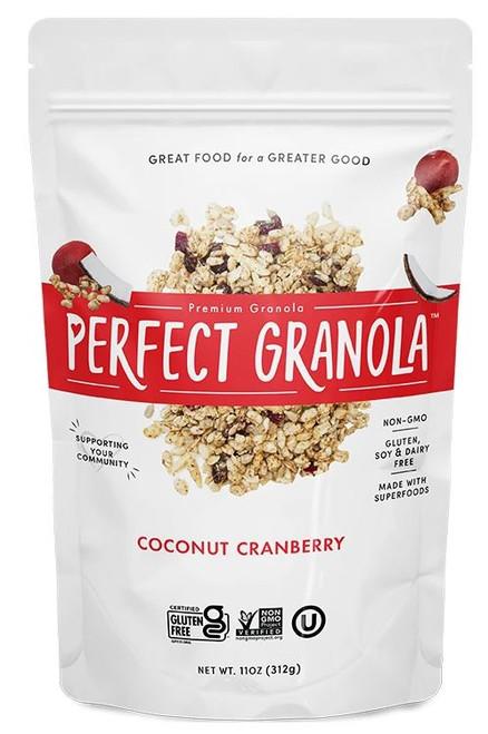 The Perfect Granola Coconut Cranberry