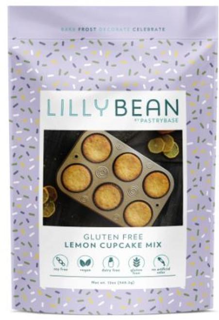 Lillybean Vegan Cupcake Mix Lemon
