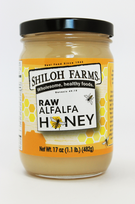 Shiloh Farms Raw Alfalfa Honey