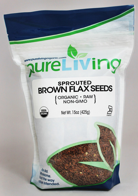 PureLiving® Gluten-Free Sprouted Brown Flax Seeds