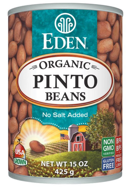 Eden Foods Organic Pinto Beans, Canned