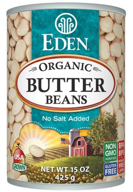 Eden Foods Organic Butter Beans, Canned