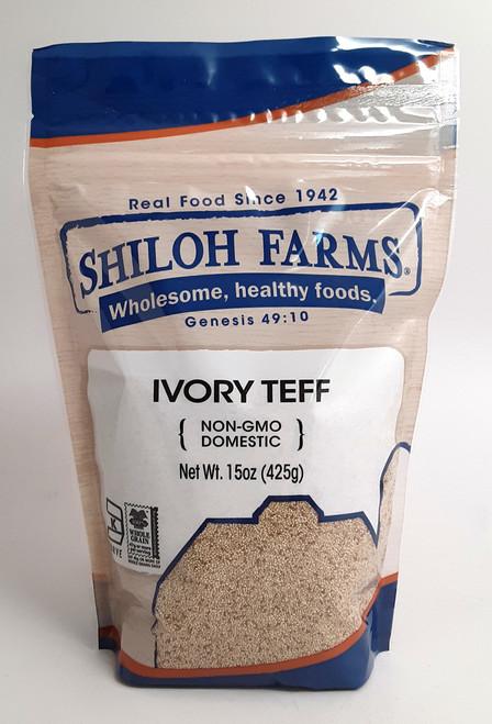 Shiloh Farms Kosher Ivory Teff Grain