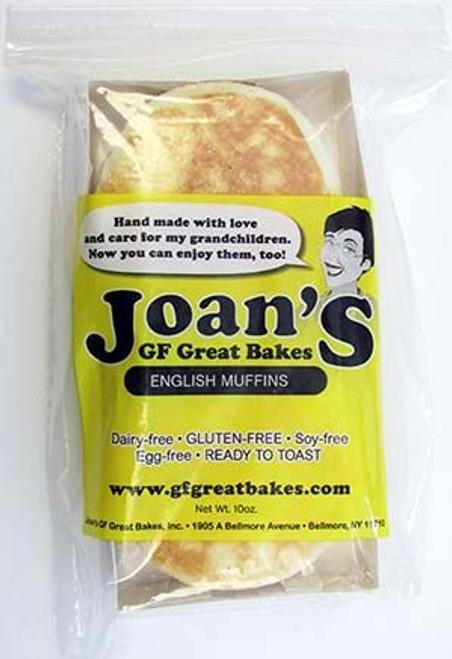 Joan's Gluten-Free English Muffins (FROZEN)