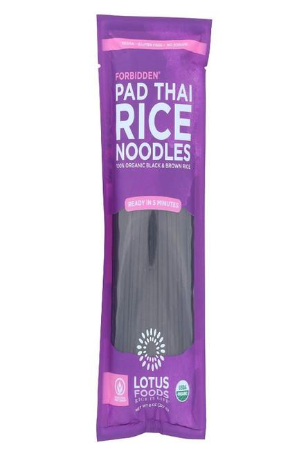 Lotus Foods Vegan Pad Thai Forbidden Noodles