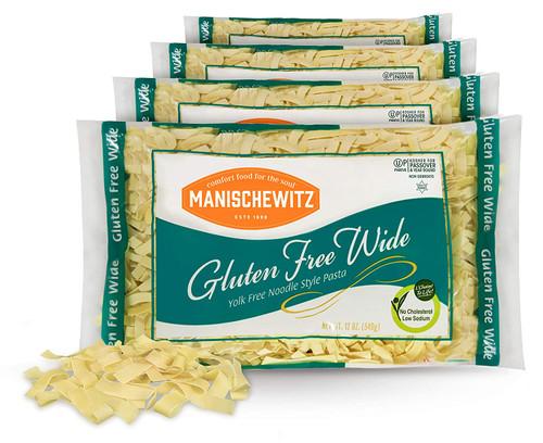 Manischewitz Gluten-Free Wide Egg Noodles
