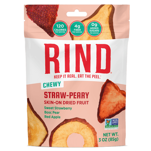 Rind Superfruit Kosher Snack Straw-Peary Blend