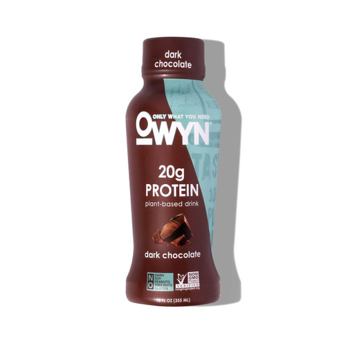 Owyn Vegan Dark Chocolate Protein Shake