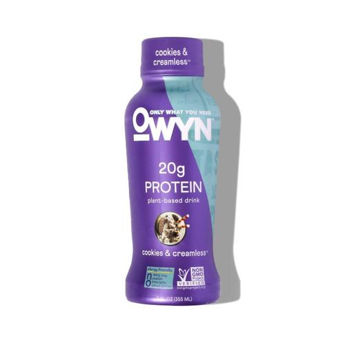Owyn Vegan Cookies & Creamless Protein Shake
