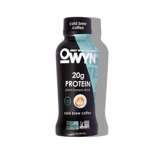 Owyn Vegan Cold Brew Coffee Protein Shake