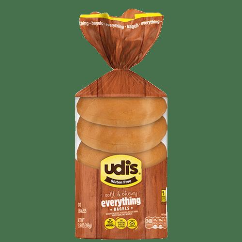 Udi's Kosher Everything Bagels