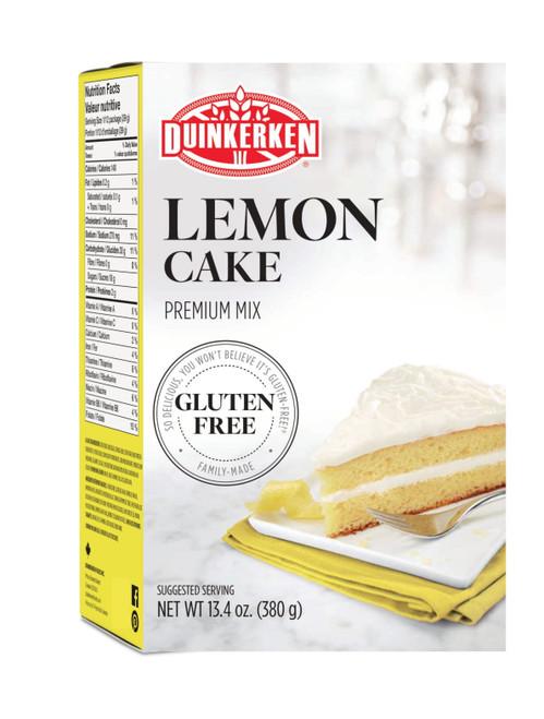 Duinkerken Gluten-Free Premium Lemon Cake Mix