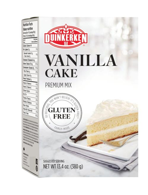 Duinkerken Gluten-Free Premium Vanilla Cake Mix