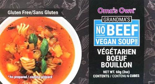 Oma's Own No Beef Vegan Bouillon Soup Cubes